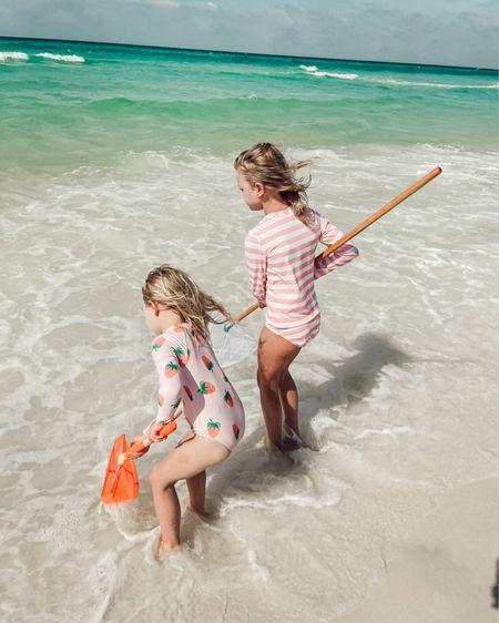 Little girl / little kid swimsuits and beach clothes #liketkit http://liketk.it/3gBrd @liketoknow.it #LTKswim #LTKtravel #LTKkids