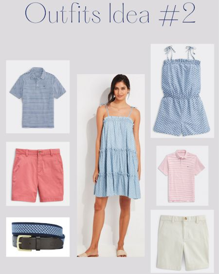 Red and Blue matching family outfits for Fourth of July #liketkit @liketoknow.it http://liketk.it/3iOwM #LTKfamily