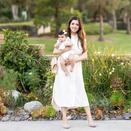 After Alayna was born I've been so drawn to neutral colors in my wardrobe. Previously, black was my absolute favorite color in clothing. I find now that I shy away from the black clothing in my closet and opt for the lighter brighter colors.  What's your favorite clothing color right at this moment?    #LTKbaby