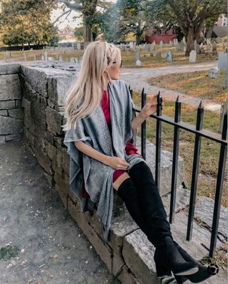Have you been to Salem, MA in the fall? If not it's a must do! I went at the end of Sept and these OTK boots were perfect for basically everyday.   #LTKSeasonal #LTKGiftGuide #LTKHoliday