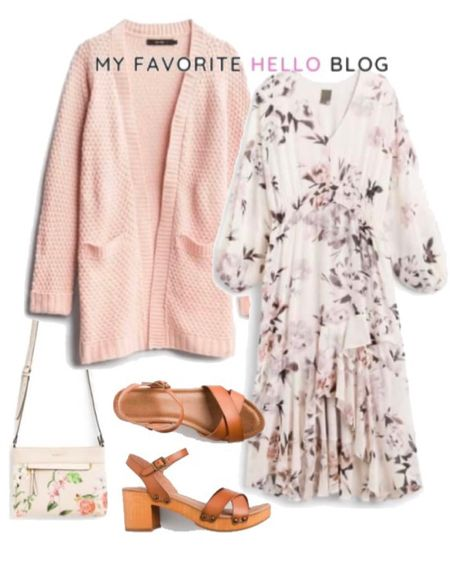 Stitch fix sompring outfit. Spring wedding guest outfit. Spring floral dress and floral crossbody with wooden sandals. Wedding guest outfit under $100. http://liketk.it/3cFqY #liketkit @liketoknow.it #stitchfixoutfit #stitchfixdress #stylingstitchfix #amazonfinds #weddingguest  #LTKstyletip #LTKunder100 #LTKwedding