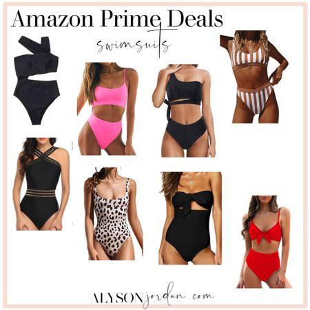 Amazon prime day deals.. swimsuits #LTKsalealert #LTKunder50 #LTKswim @liketoknow.it #liketkit http://liketk.it/3ibg9