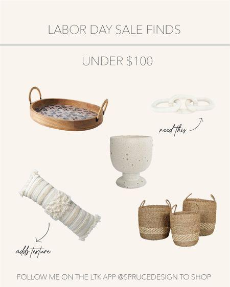 Labor Day sale finds | Elevate your space with decor finds under $100 🤍   #LTKhome #LTKstyletip #LTKunder100
