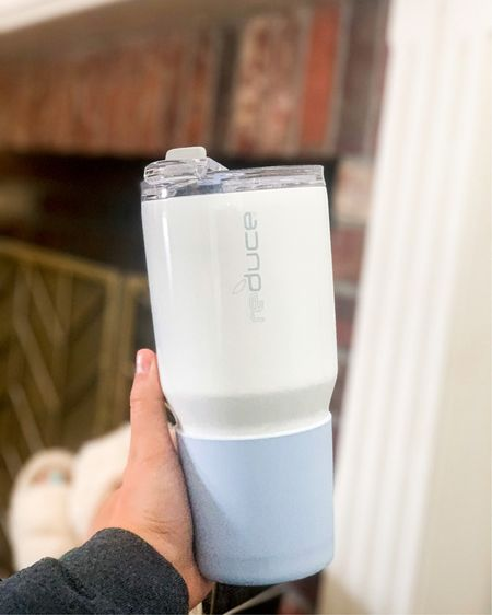 34oz hot and cold tumbler. Fits cup holder. It's cute but the best part is the three functions of the lid! You can sip, gulp or suck with a straw. Dishwasher safe! Helps mama get her water in! ✨ #liketkit #LTKfamily #LTKbump #LTKcurves @liketoknow.it @liketoknow.it.home @liketoknow.it.family http://liketk.it/2QCZl
