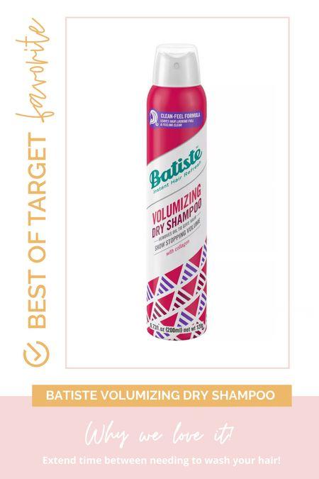 Jenna's favorite dry shampoo!  #targetdeals #targetbeauty