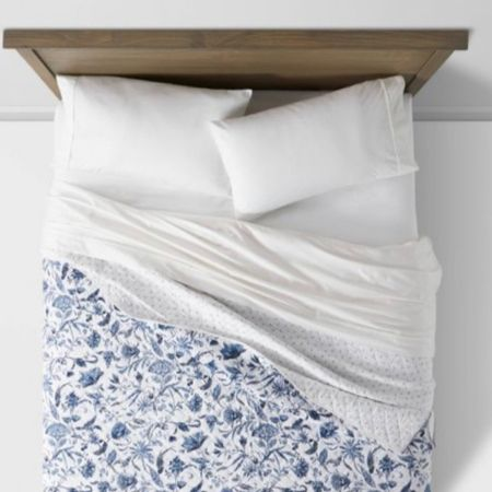 Blue and white bedding price drop!  Reversible quilt perfect for spring and summer bedding refresh.     #LTKhome #LTKunder50 #LTKunder100 #liketkit @liketoknow.it @liketoknow.it.home http://liketk.it/3cQWT