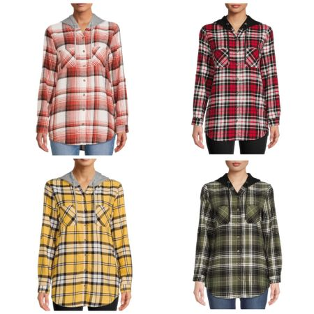 $15 hooded flannels