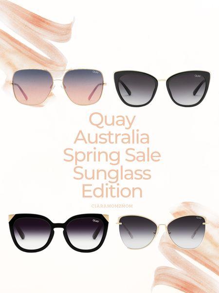 Quay Australia sale is happening!!   Get 20% off your favorite sunglasses just in time for summer!   #LTKSpringSale #LTKsalealert #LTKitbag