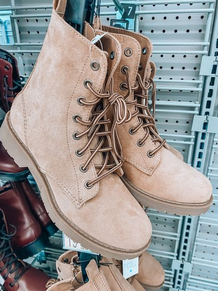 Time and Tru combat boots comes in multiple colors, thus color is getting low in stock.   Walmart fashion, Walmart boots, Walmart, fall boots, fall, Walmart fashion   #LTKsalealert #LTKunder50 #LTKshoecrush