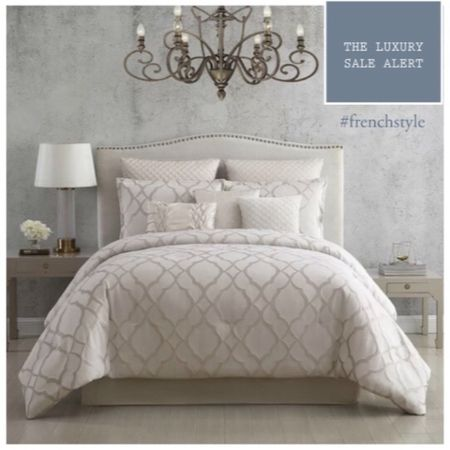 Change up your decor for spring with this luxury bedding and comforter set on sale! . #LTKsalealert #LTKhome #LTKeurope @liketoknow.it.home http://liketk.it/397Bf #liketkit @liketoknow.it