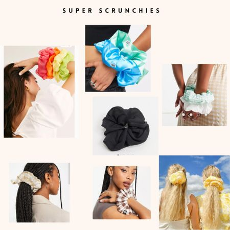 Super scrunchies 🎀   #LTKGifts #LTKstyletip #LTKeurope