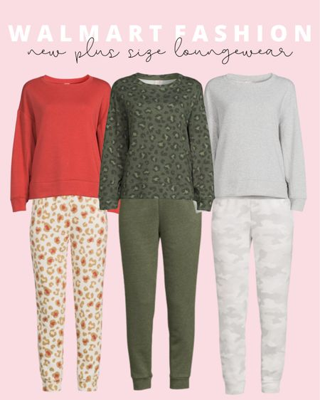 New plus size loungewear at Walmart! Also comes in regular sizes. Available as separates or as a set!   #LTKunder50 #LTKcurves #LTKstyletip