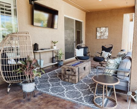 """All the things that made my dream outdoor patio space a reality!! {anything not linked was something I had, thrifted or found at a discount store & probably shared on my youtube vlog channel """"Kyle & Amanda"""" ♡  http://liketk.it/3hCoj #liketkit @liketoknow.it #LTKhome #LTKfamily #LTKsalealert @liketoknow.it.home You can instantly shop my home by following me on the LIKEtoKNOW.it shopping app"""