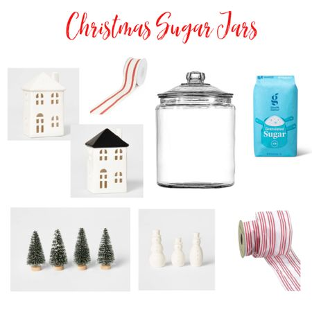 We are breaking out the traditional Decor and these Christmas Sugar jars are defiantly Something my family looks forward to every year! These jars first debut was a published page in my @betterhomesandgardens Christmas idea feature. They made a comeback this year in my feature in @Entertainandcelebrate  No wonder they are so popular....they are quick to put together, pretty inexpensive and beyond darling!!!  I've attached all the supplies you need through my @liketoknow.it app! I've also created a highlight button with all the swipe ups :) http://liketk.it/30Hyt #liketkit
