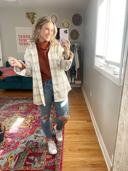 Amazon finds: oversized sweater and shacket are both amazon fashion finds, linked these levis and my favorite white sneakers.   #LTKsalealert #LTKshoecrush #LTKstyletip
