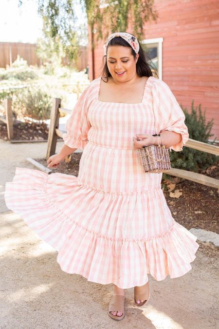 Obsessed with this fresh new spring dress! Wearing a 2xl and it's true to size and so high quality!   #LTKcurves #LTKstyletip #LTKunder50