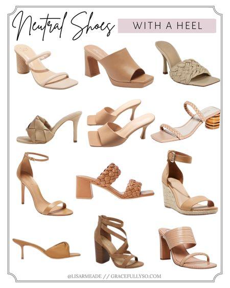 Neutral Shoes With a Heel ✨  . . .  http://liketk.it/38KKi #liketkit @liketoknow.it #nude #nudeshoes #shoes #heels #neutralshoes #lulus #nordstrom #stevemadden #highheels #summershoes #spring #summer #animalprint #mules #opentoemule #ropesandal #ropeheel #braidedheel #braided