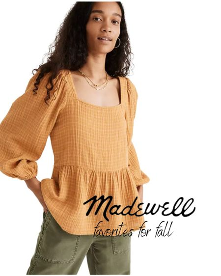 I love this top from Madewell-and right now you can save $25 off orders over $150!  #competition @shop.ltk  Follow my shop on the @shop.LTK app to shop this post and get my exclusive app-only content!  #liketkit #LTKSale #LTKsalealert #LTKSeasonal