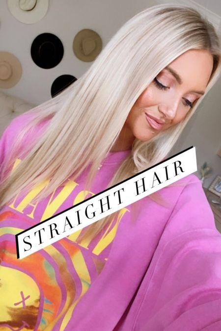 Straight hair essentials and T3 micro straightener on sale at the Nordstrom Anniversary Sale   #LTKbeauty #LTKsalealert