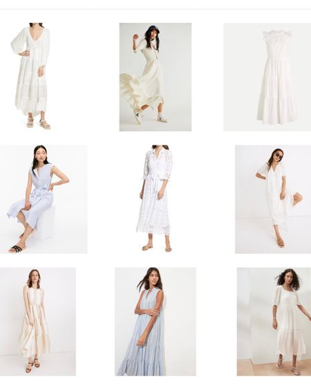 White summer dress maxi http://liketk.it/3gbEn #liketkit @liketoknow.it #LTKhome #LTKsalealert #LTKunder100 @liketoknow.it.home You can instantly shop my looks by following me on the LIKEtoKNOW.it shopping app