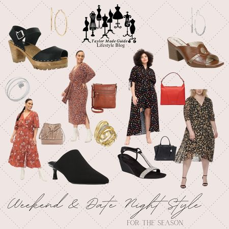 Here are some of my weekend and date night styles for this season. Do you like them? share yours with me.  #LTKcurves #LTKstyletip #LTKshoecrush