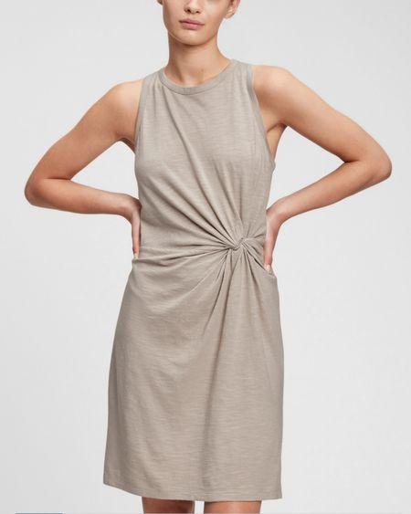 http://liketk.it/3jrsu #liketkit @liketoknow.it #LTKsalealert #LTKunder50 #LTKunder100 #summerdress #dress #neutrals #nude #tan #oldnavy #gap #sundress