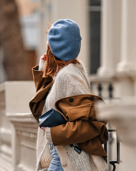Baby blues and toffee hues 🍪🍪🍪 currently obsessed with this colour combo... cozy cardigans and blue jeans 🙌🏻 Shop your screenshot of this pic with the LIKEtoKNOW.it app @liketoknow.it http://liketk.it/2AyKq #LTKeurope #LTKitbag #liketkit @liketoknow.it.europe