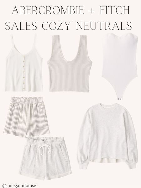 Comfy and cozy neutral sale items from Abercrombie & Fitch! Weekend sale 25% off select styles and extra 15% off almost everything!   #LTKSeasonal #LTKstyletip #LTKsalealert