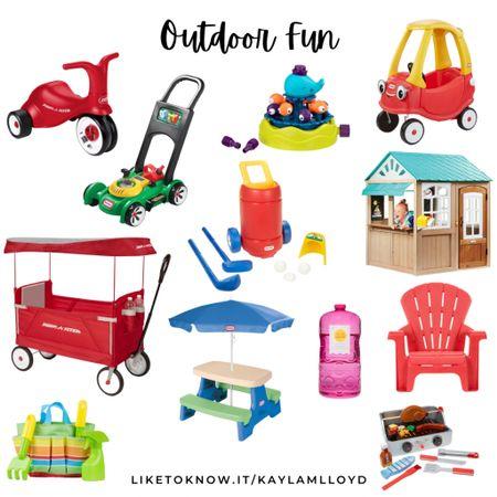 Some outdoor fun! ☀️ // Target finds // kids toys http://liketk.it/3fHtY @liketoknow.it #liketkit #LTKunder100 #LTKsalealert #LTKkids