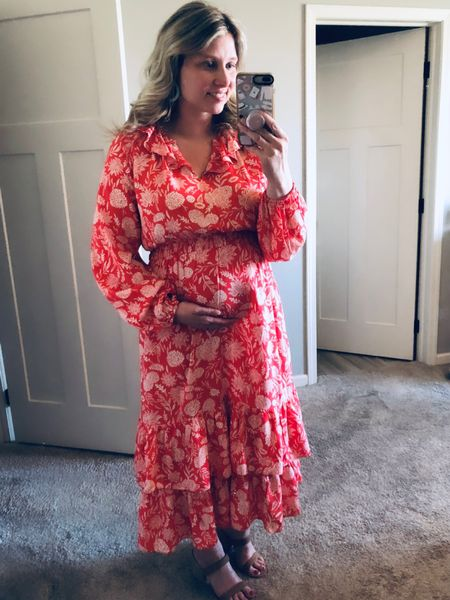 Happy Easter!! 💕 He is Risen!! ✝️ I hope you all are having  a great day!! Sharing my dress from Target-not maternity (but maternity friendly). I am wearing my normal size medium and there is plenty of room. I am trying to be mindful and buy pieces that I can still wear after this pregnancy. And honestly, some maternity clothes are really ugly. #justsaying  • • Link in Profile  http://liketk.it/3c5tQ #liketkit @liketoknow.it  • •  #LTKbump #LTKcurves #LTKstyletip   • • •  Shop your screenshot of this pic with the LIKEtoKNOW.it shopping app