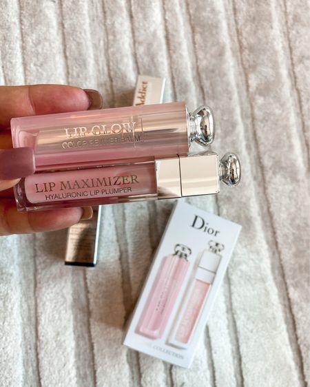 Found this set matching the best of Dior lip! The lip glow and lip maximizer plumper! In the most perfect pink! http://liketk.it/2YLFi #liketkit @liketoknow.it #LTKsalealert #LTKunder100 #LTKbeauty