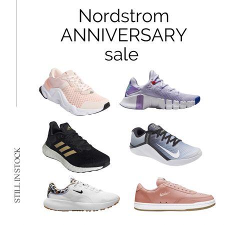 #nsale sneakers still in stock Nordstrom anniversary sale, Nordstrom sneakers, sale finds, Nordstrom sale, Nike.  #LTKsalealert #LTKshoecrush #LTKfit