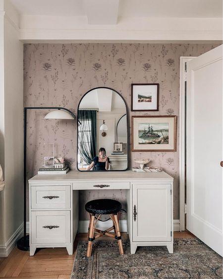 vanity or desk with outlets (mine is painted)    http://liketk.it/3fVnR #liketkit @liketoknow.it #LTKhome #LTKbeauty @liketoknow.it.home