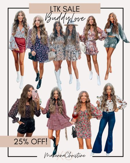 BuddyLove is 25% off site wide w/ code LTKBL!! Ends today!!!