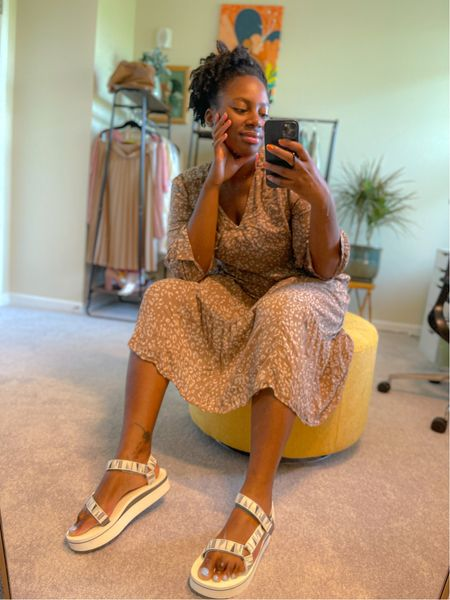 Loving these teva flatform Sandals. They are so comfortable. I can't wait to wear them with my summer dresses   #LTKshoecrush #LTKfamily #LTKSeasonal