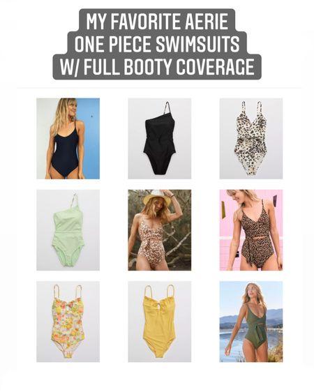 "Best ""full coverage booty"" one-piece swimsuits! http://liketk.it/3aNQc #liketkit @liketoknow.it #LTKswim #LTKtravel #LTKunder50"