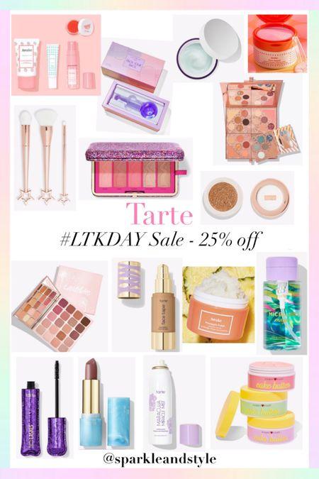LTK Day Sale: Tarte - 25% off    http://liketk.it/3hz2a @liketoknow.it #liketkit #LTKDay  #LTKbeauty #LTKsalealert   Skincare set, facial globes, face globe, hydrating moisturizer, eyeshadow palette, makeup brush set, blush, bronzer, and highlight palette, chrome highlighter, lipstick, pineapple polish scrub, mascara, setting spray, whipped body butter, foundation, pore refining pads, micellar water makeup remover