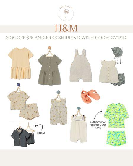 H&M sales picks // baby and kids   #LTKsalealert