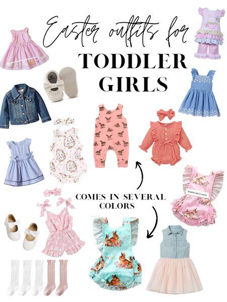 Toddler girl Easter outfits @liketoknow.it #liketkit #LTKSpringSale #LTKkids #LTKbaby http://liketk.it/3aK09 Shop my daily looks by following me on the LIKEtoKNOW.it shopping app