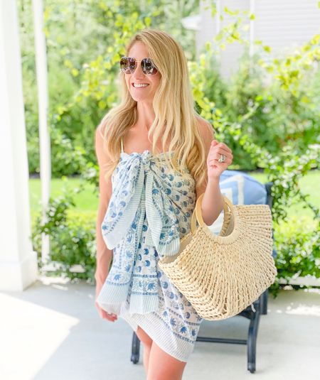 A new way to wear your pareo to elevate your pool day style   #LTKfamily #LTKstyletip #LTKswim