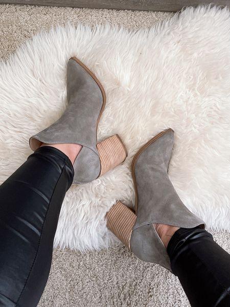 Nordstrom Anniversary Sale | Steve Madden Ankle Boots in Grey Suede (wearing size 8)   #LTKsalealert #LTKshoecrush #LTKstyletip