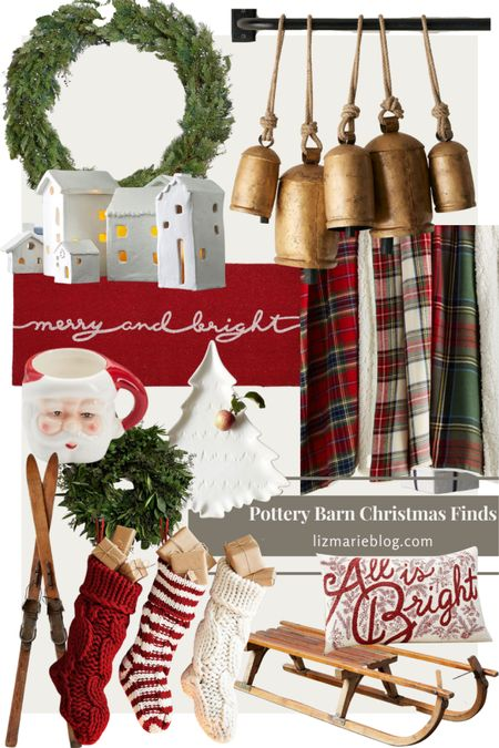 It's that time of year! Christmas Decor is launching at all of our favorite stores. Here are some of my favorites from Pottery Barn!   #LTKHoliday #LTKSeasonal #LTKhome
