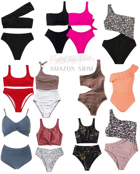 Amazon swim swimwear swimsuits http://liketk.it/3bHsq #liketkit @liketoknow.it #LTKunder50 #LTKtravel #LTKswim