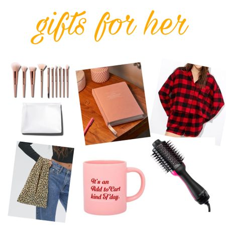 Gifts for her! Tried to incorporate budget friendly and an array of options. These are mainly just for inspiration ☺️ http://liketk.it/31mCT #liketkit @liketoknow.it