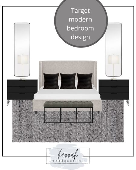 A luxe modern bedroom design for less!  @liketoknow.it #liketkit @liketoknow.it.home Shop your screenshot of this pic with the LIKEtoKNOW.it shopping app http://liketk.it/3esIZ