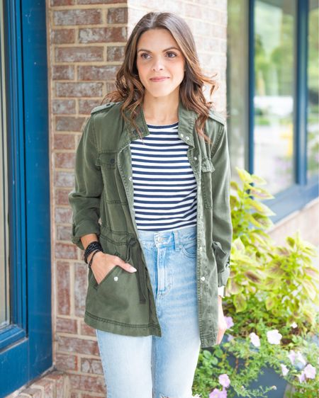 FALL ESSENTIALS: UTILITY JACKET // no matter the style, a casual utility jacket ensures that olive hue we love so well in our Fall closet!   #LTKunder100 #LTKstyletip #LTKunder50