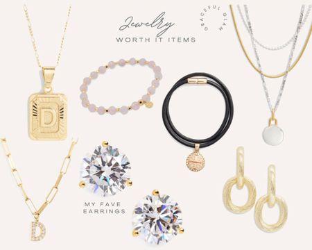 """Nordstrom anniversary Sale 2021 My """"worth it"""" jewelry picks  See all my """"worth it"""" picks on www.GracefulGlamByDanielle.com 💛   http://liketk.it/3jSwH #liketkit @liketoknow.it #LTKbeauty #LTKstyletip #LTKsalealert"""