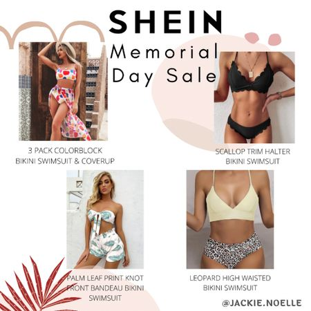 Perfect bathing suits for this summer! Be sure to shop SHEINS Memorial Day sale to get the lowest prices! You can instantly shop my looks by following me on the LIKEtoKNOW.it shopping app @liketoknow.it #liketkit #LTKswim #LTKsalealert #LTKstyletip http://liketk.it/3gx7m