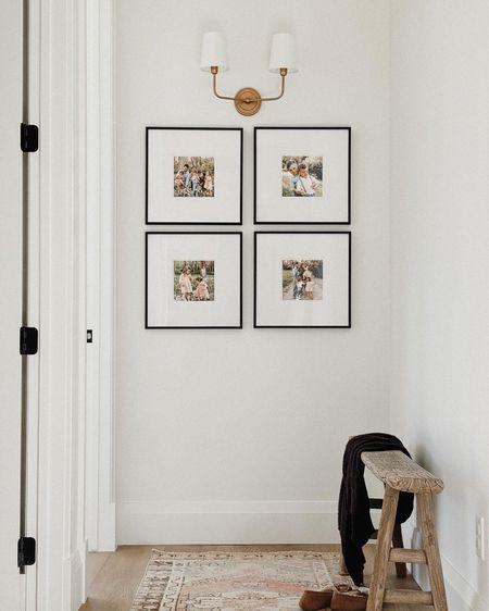 Gallery wall, hallway design, hallway styling   #LTKhome #LTKunder100 #LTKunder50