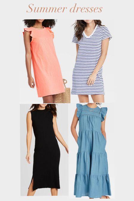 Summer dresses Target finds  #bumpfriendly    #LTKunder50 #LTKstyletip